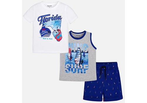 Mayoral Mayoral Set Short + T-Shirt Florida