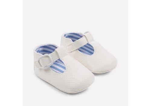 Mayoral Mayoral Babyschoentjes Wit