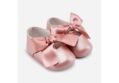 Mayoral Mayoral Ballerina Bow Mary Jane Pink