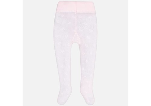 Mayoral Mayoral Tights Print Pink