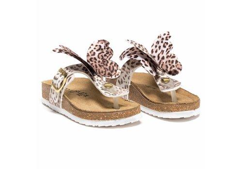 Monnalisa Monnalisa Sandals Butterfly Leopard