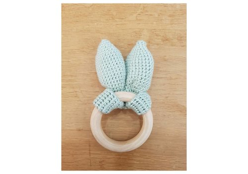MiniM MiniM Teether Bunny Ears Mint