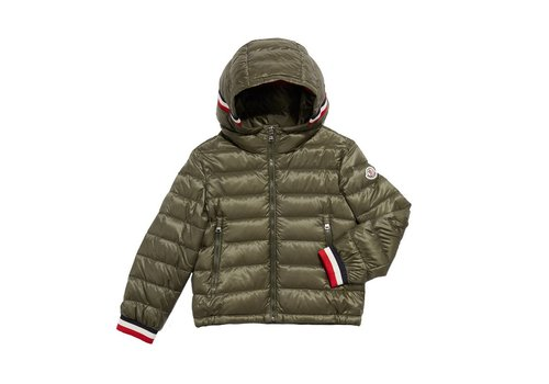 Moncler Moncler Hooded Jacket Kaki