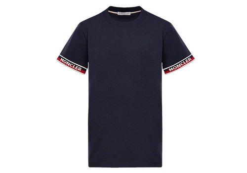 Moncler Moncler T-Shirt Maglia Navy