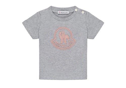Moncler Moncler T-Shirt Maglia Pink Logo