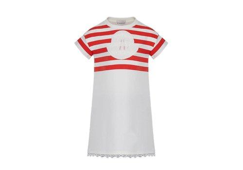 Moncler Moncler Dress Red Stripes