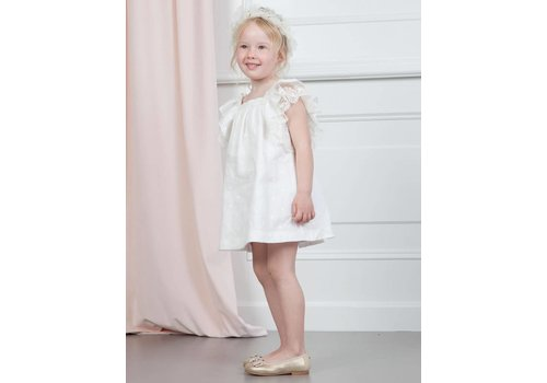 Abel & Lula Abel & Lula Dress Linen White