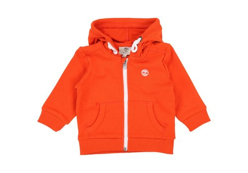 Timberland Timberland Hooded Cardigan Orange