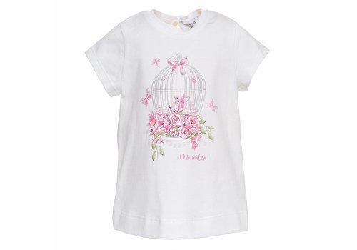 Monnalisa Monnalisa T-Shirt St.Cage Roses
