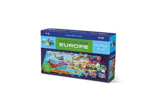 Crocodile Creek Crocodile Creek Puzzel & Play Discover Europe
