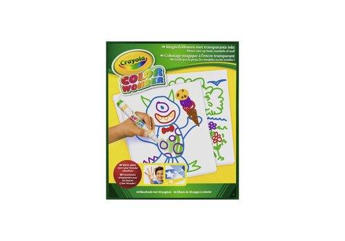 Crayola Crayola Tekenblok Color Wonder 30 Blz