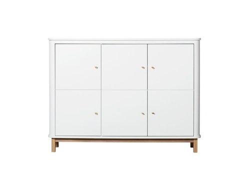 Oliver Furniture Oliver Furniture Kast Multi Cupboard Wit - Eik