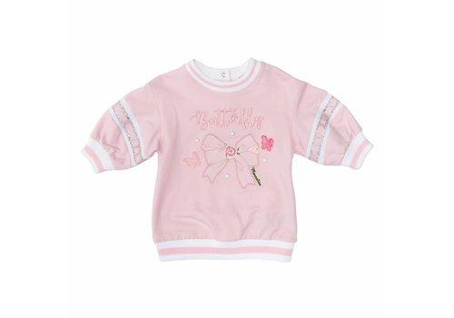 Monnalisa Monnalisa Sweater Butteryfly Pink