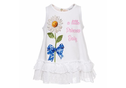 Monnalisa Monnalisa T-Shirt A Little Princess Daisy