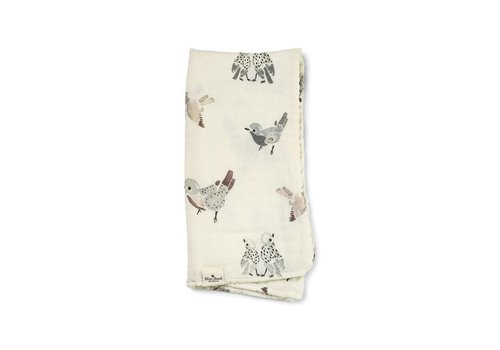 Elodie details Elodie Details Bamboo Swaddle Feathered Friend
