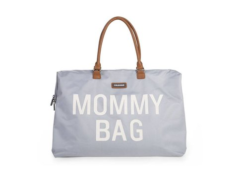 Childhome Childhome Mommy Bag Grey Off White