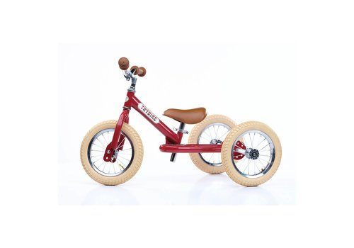 Trybike Trybike Loopfiets 2-in-1 Vintage Red