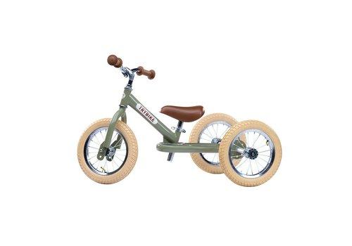 Trybike Trybike Loopfiets 2-in-1 Vintage Green