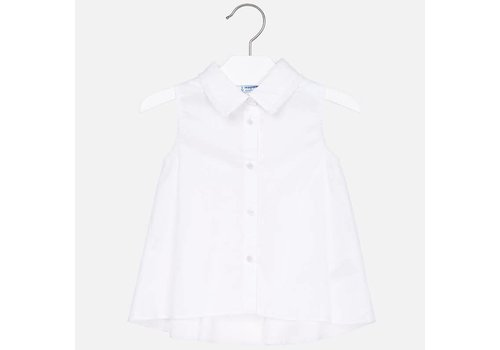 Mayoral Mayoral Shirt Poplin White