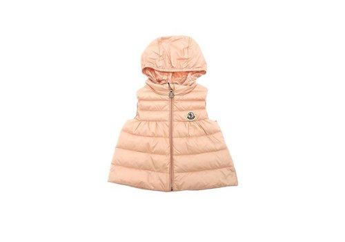 Moncler Moncler Hooded Bodywarmer Pink