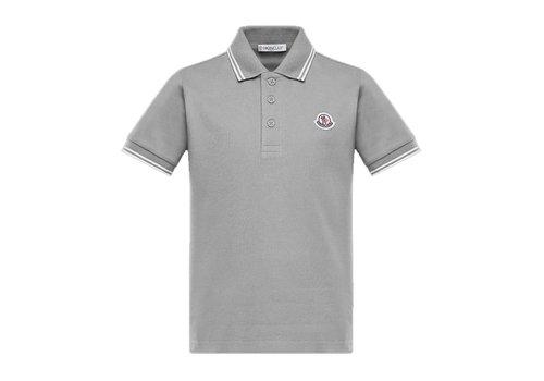 Moncler Moncler Polo Grey