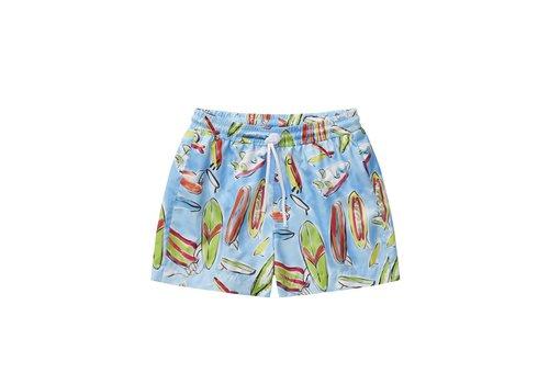 Il Gufo Il Gufo Swim Shorts Tangerine