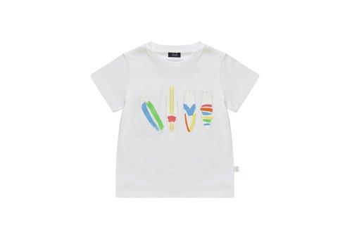Il Gufo Il Gufo T-Shirt Wit Surf