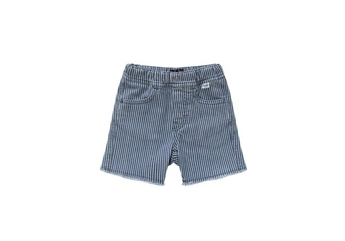 Il Gufo Il Gufo Short Denim Blue