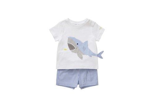 Il Gufo Il Gufo Set Shark Reef Blue