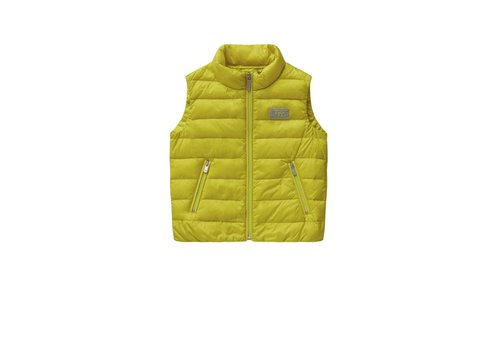 Il Gufo Il Gufo Bodywarmer Yellow Lime