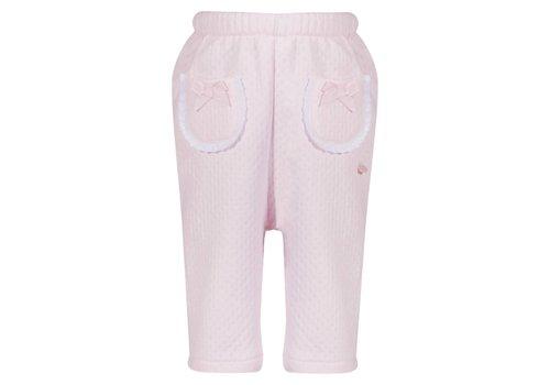 Patachou Patachou Broek Baby Roze Strikjes