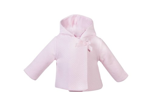 Patachou Patachou Coat Baby Pink Bow