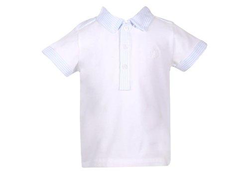 Patachou Patachou Polo White - Blue