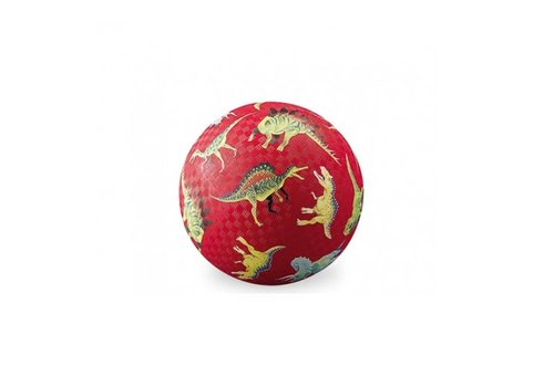 Crocodile Creek Crocodile Creek Ball 13 cm Dinosaurs Red