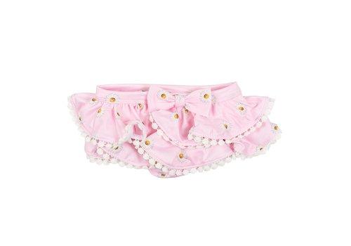 Monnalisa Monnalisa Bikinibroekje Roze Flowers
