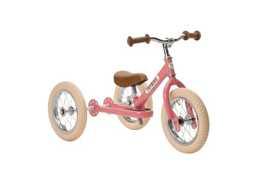 Trybike Trybike Balance Bike Vintage Pink