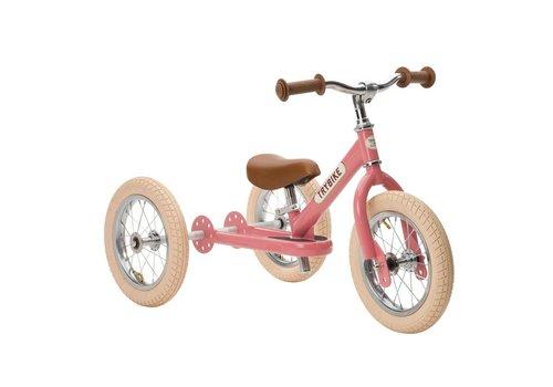 Trybike Trybike Loopfiets 2-in-1 Vintage Pink