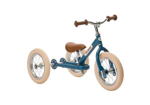 Trybike Trybike Loopfiets 2-in-1 Vintage Blue