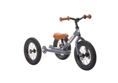 Trybike Trybike Balance Bike 2-in-1 Steel Grey