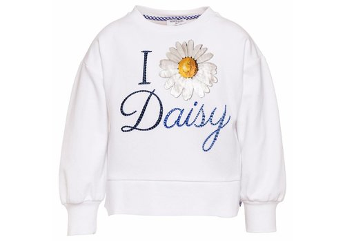Monnalisa Monnalisa Sweater St. Daisy White