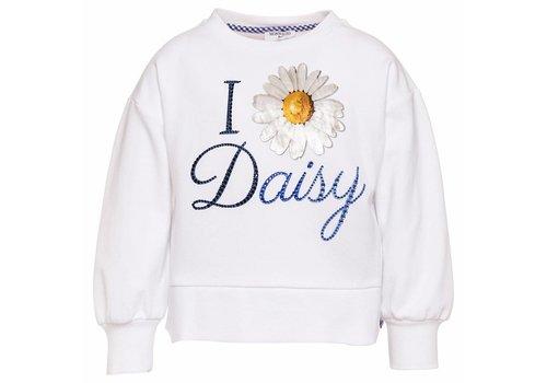 Monnalisa Monnalisa Sweater St. Daisy Wit