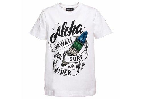 Monnalisa Monnalisa T-Shirt St.Aloha Wit