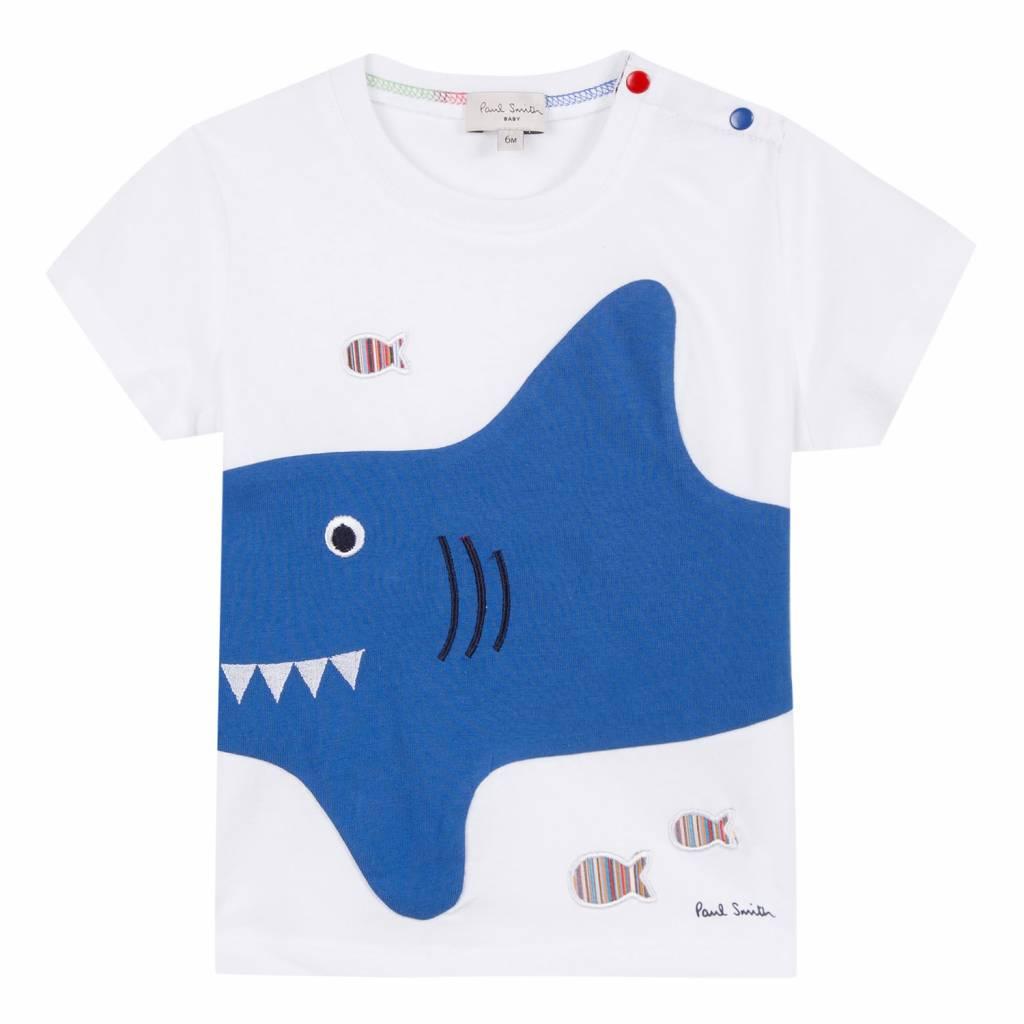 3303d6e461c6df Paul Smith T-Shirt Wit Shark - Jules   Juliette
