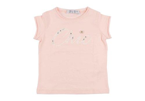 Elsy Elsy T-Shirt Roze 'Chic'