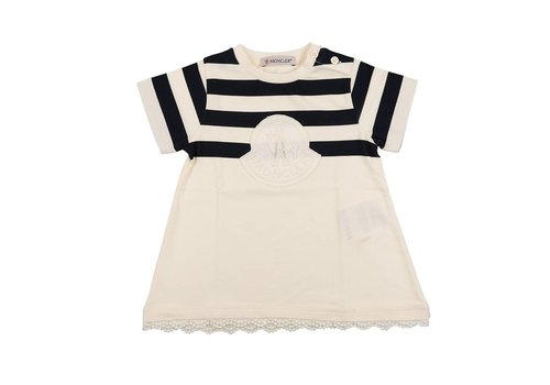 Moncler Moncler Dress Navy - White