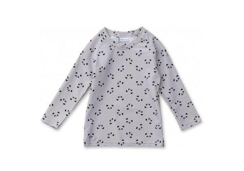 Liewood Liewood UV T-Shirt Noah Panda Dumbo Grey