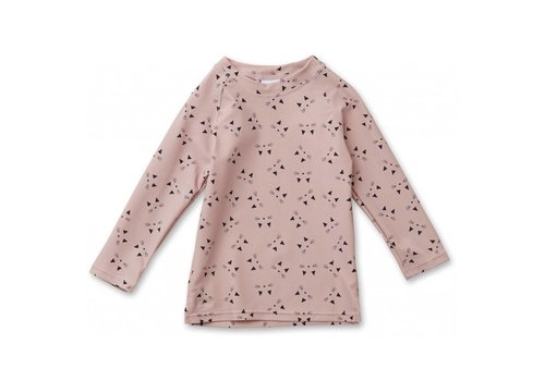 Liewood Liewood UV T-Shirt Noah Cat Rose