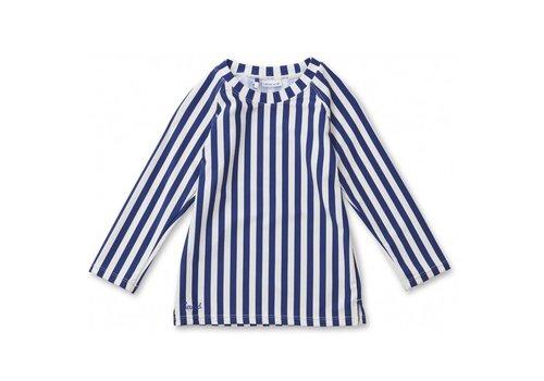 Liewood Liewood UV T-Shirt Noah Stripe Navy - Creme