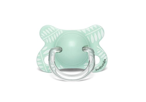Suavinex Suavinex Pacifier Fusion Silicone Physical  -2/4M Leaves GR