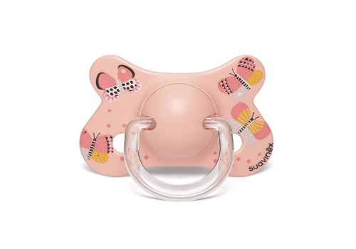 Suavinex Suavinex Pacifier Fusion Silicone Physical +4/18M Butterfly OR